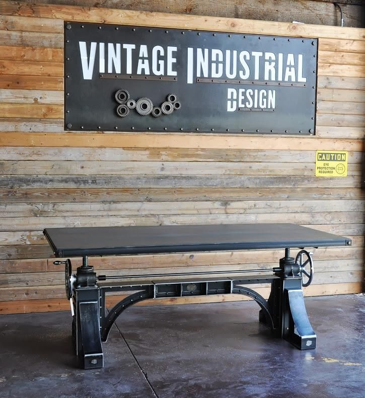 Vintage industrial design vintage industrial rustic for Muebles industriales baratos