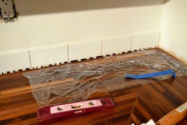 How To Add A Tile Backsplash In The Kitchen Backsplash Install