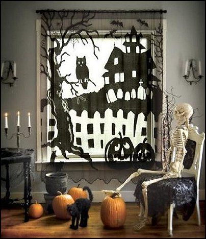 Decorating theme bedrooms , Maries Manor Halloween
