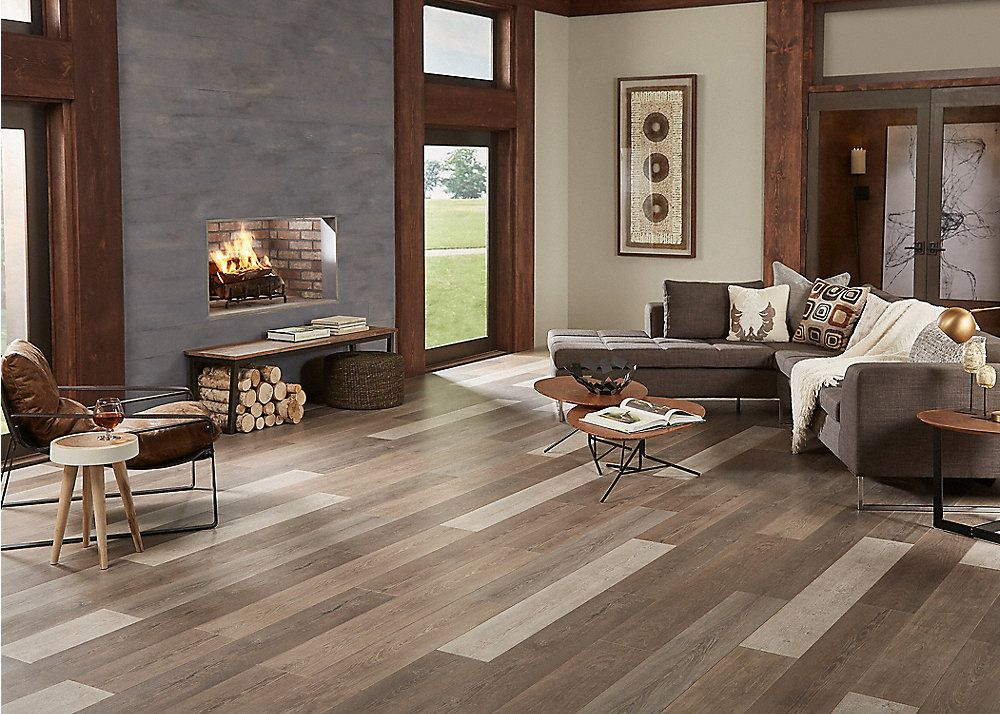 12mm Pebble Stone Oak Dream Home X2o Water Resistant Lumber Liquidators In 2019 Floor Design Home Oak Laminate Flooring