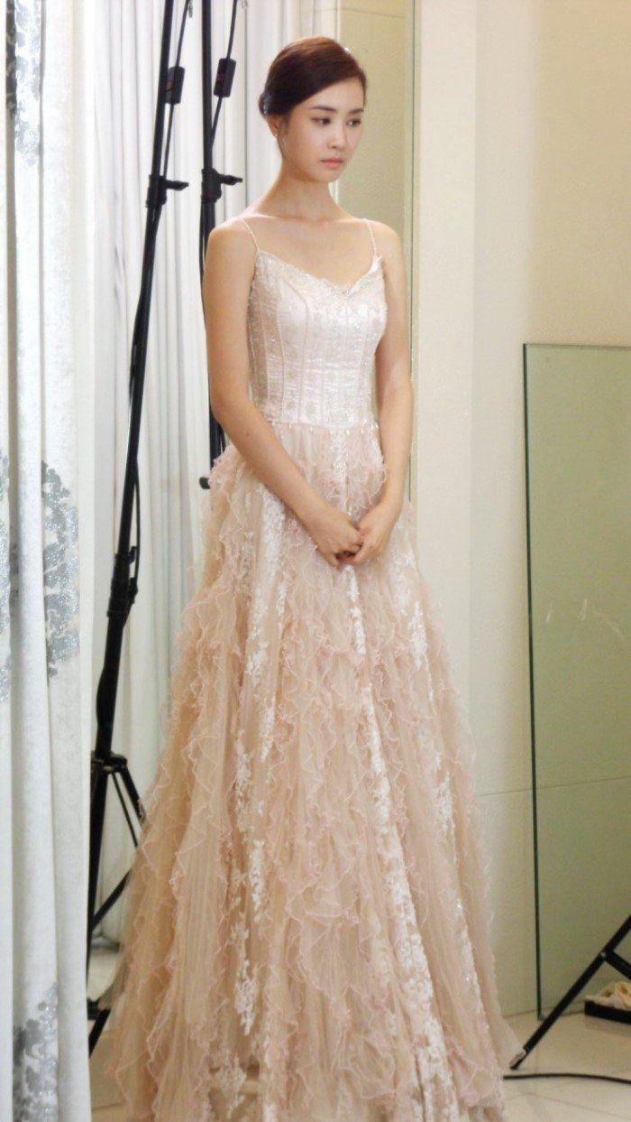 Lee Dahae (이다해) Picture Lee da hae, Long gown dress
