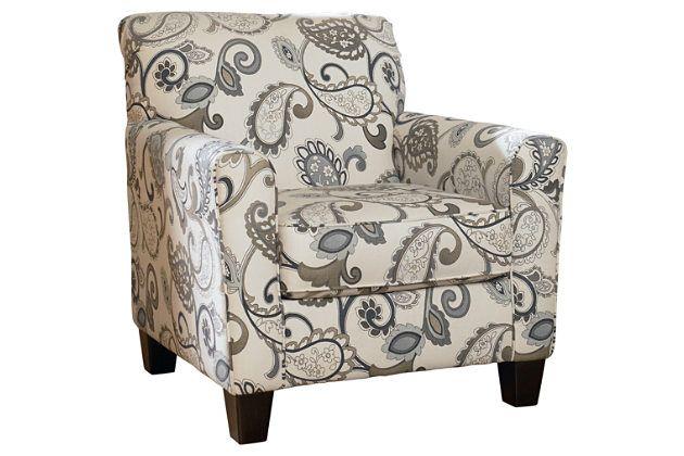 Yvette Chair By Ashley Homestore Gray Cotton Polyester Furniture Furniture Homestore Ashley Furniture