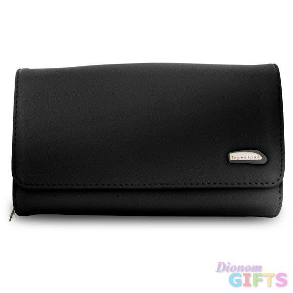 Travelon Convertible Leather Purse (Black)
