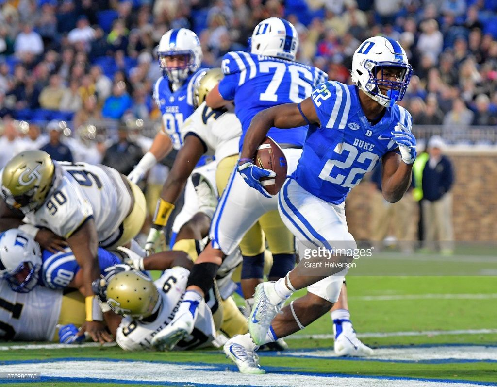 News Photo Brittain Brown Of The Duke Blue Devils Scores A