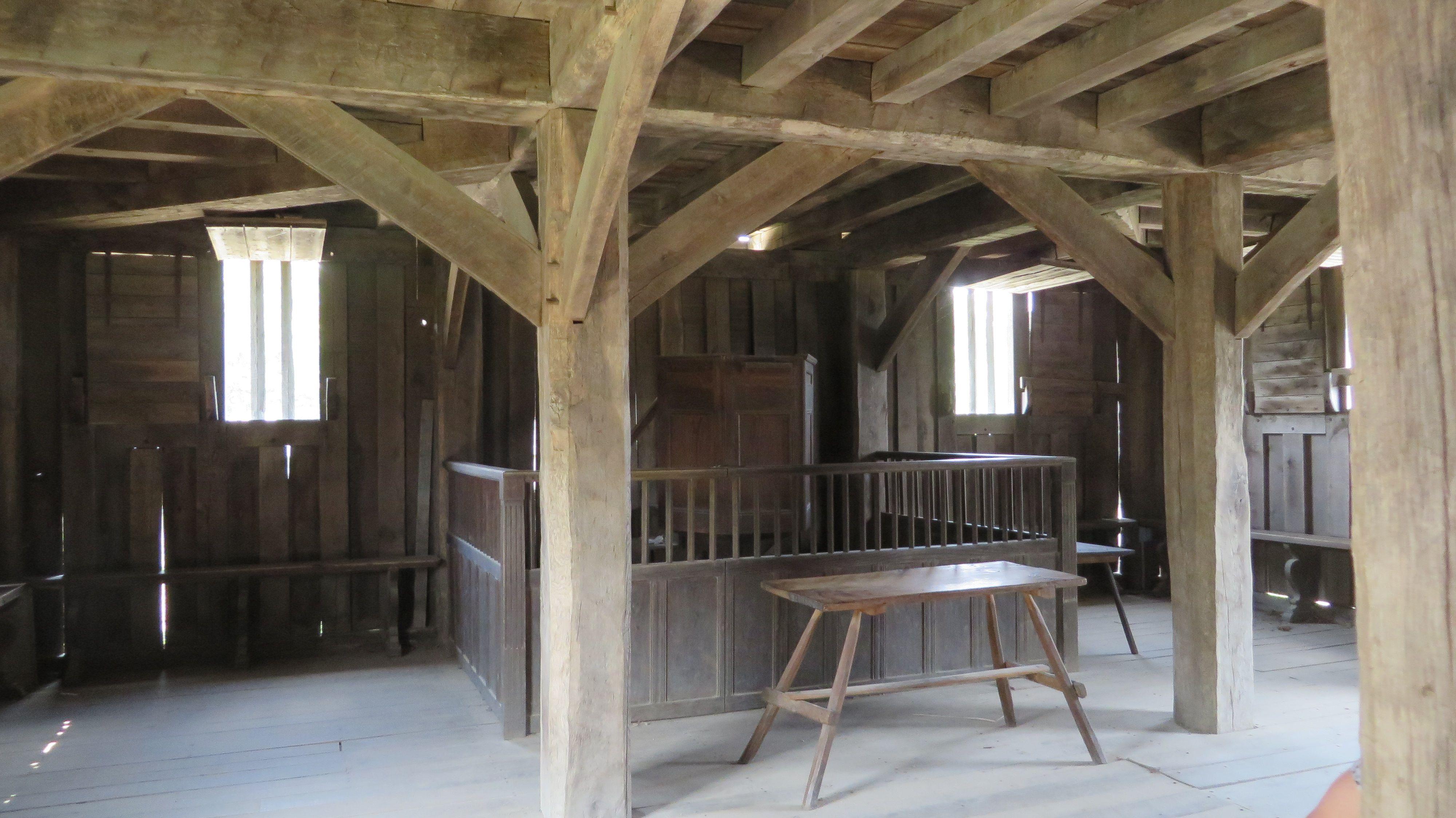 Fort/Meetinghouse Plimoth Plantation c. The Time Treasurer