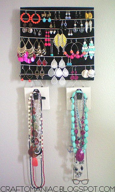Another jewelry #DIY holder