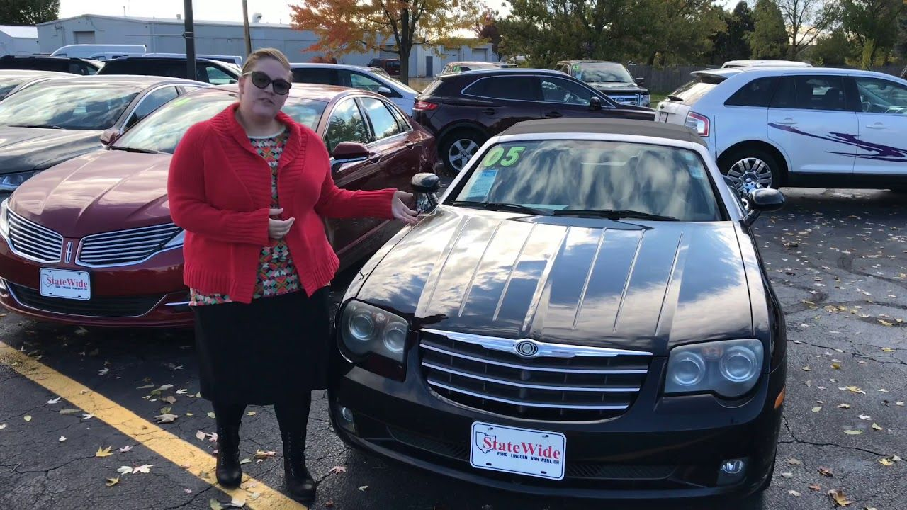 Chrysler Crossfire Limited At Statewide Ford Lincoln In Van Wert