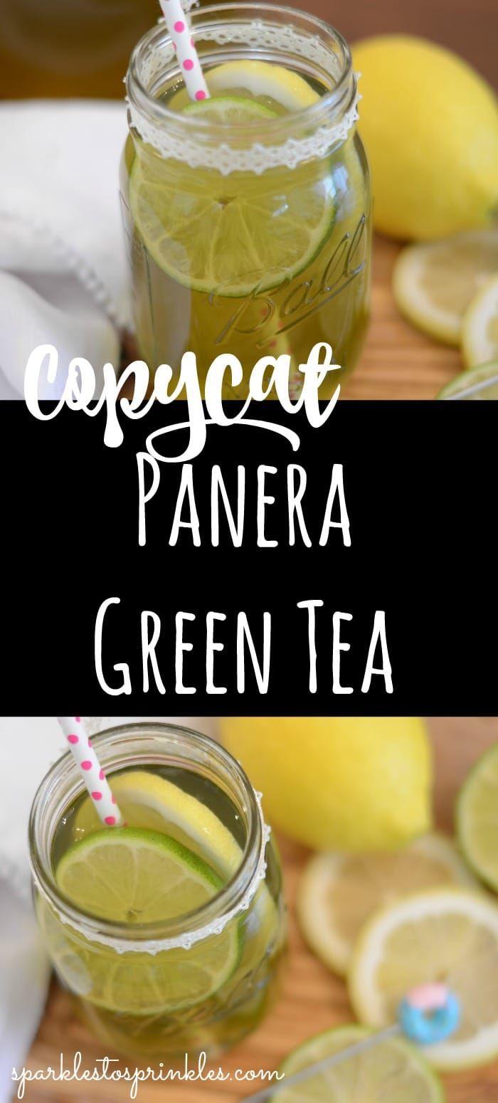 Photo of Copycat Panera Green Tea