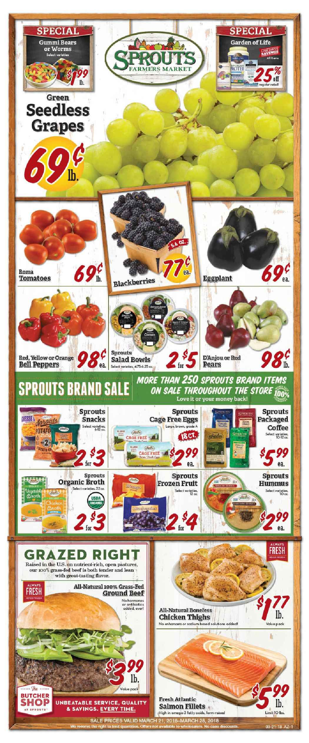 Sprouts Weekly Ad Flyer July 10 17 2019 Weeklyad123 Com Weekly Ad Circular Grocery Stores Grocery Store Ads Gluten Free Items Grocery