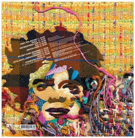 #bennysings #champaignpeople #rushhour #record #lp #vinyl #backside #coverartwork #album #ep #music #kindredspirits #packagedesign #graphicdesign #ourmachine.com #madebymachine #artdirection #illustration