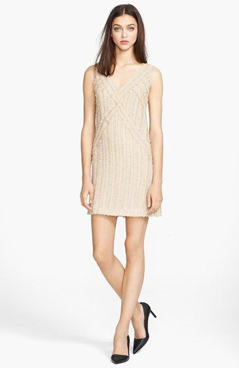 Rachel Zoe 'Rita' Shirred Chiffon Dress available at #Nordstrom