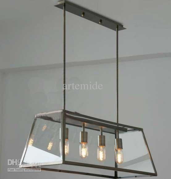 Loft pendant lamp retro american industrial black iron rectangular loft pendant lamp retro american industrial black iron rectangular chandelier living room dining room office light mozeypictures Choice Image