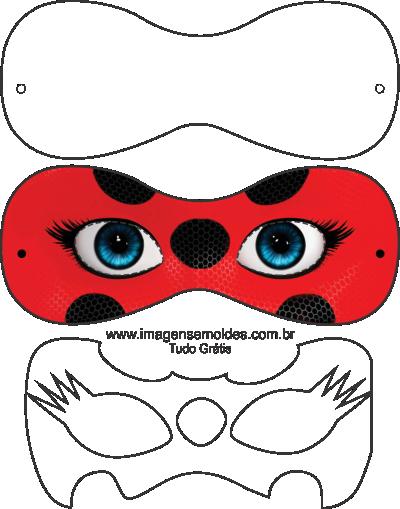 Shape Free Ladybug Ladycat Molde Moldes Molde Mascara Ladybug