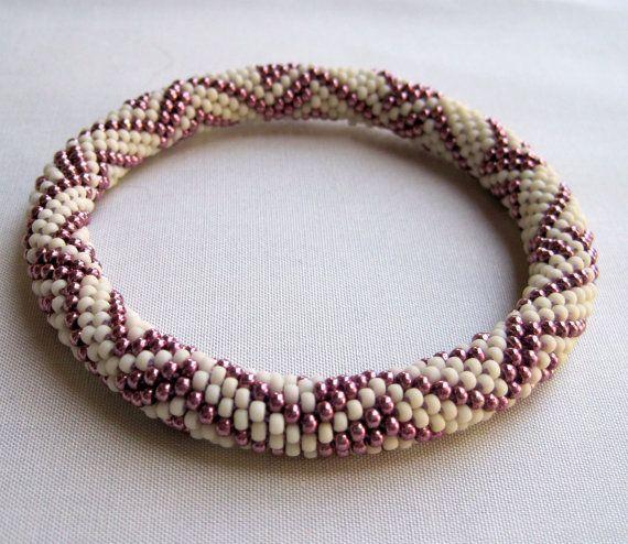 Bead Crochet Pattern  Eccentric Zig Zag by WearableArtEmporium, $7.50