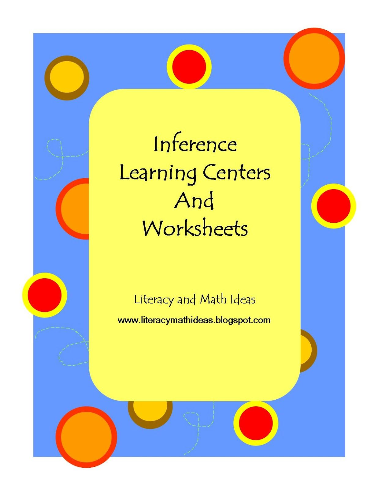 Inference Task Cards Learning Centers And Worksheets