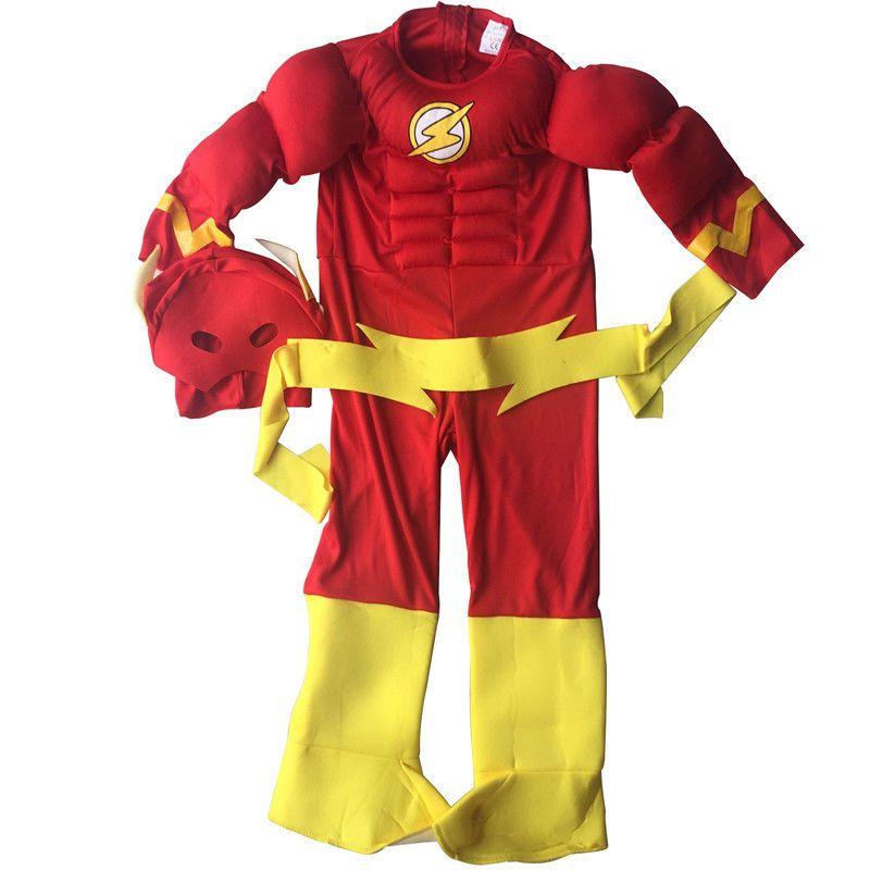 "Superhero /""The Flash/"" Scarlet Speedster Party Costume Mask Halloween Christmas"