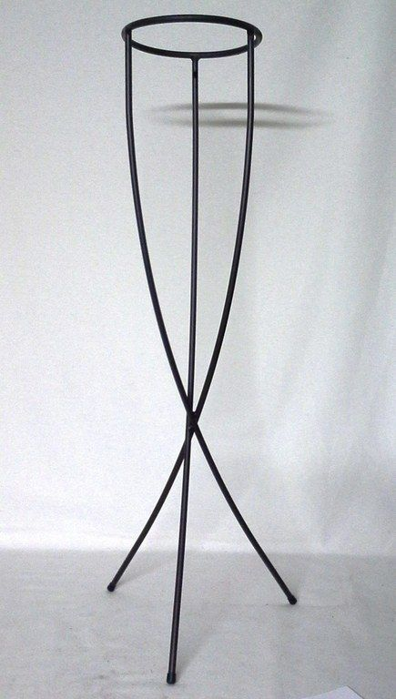 pie macetero alto hierro | casamiento | pinterest