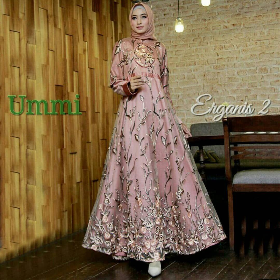 ERGANIS 12 Syari by Ummi Dress Only (geser gambar utk liat warna