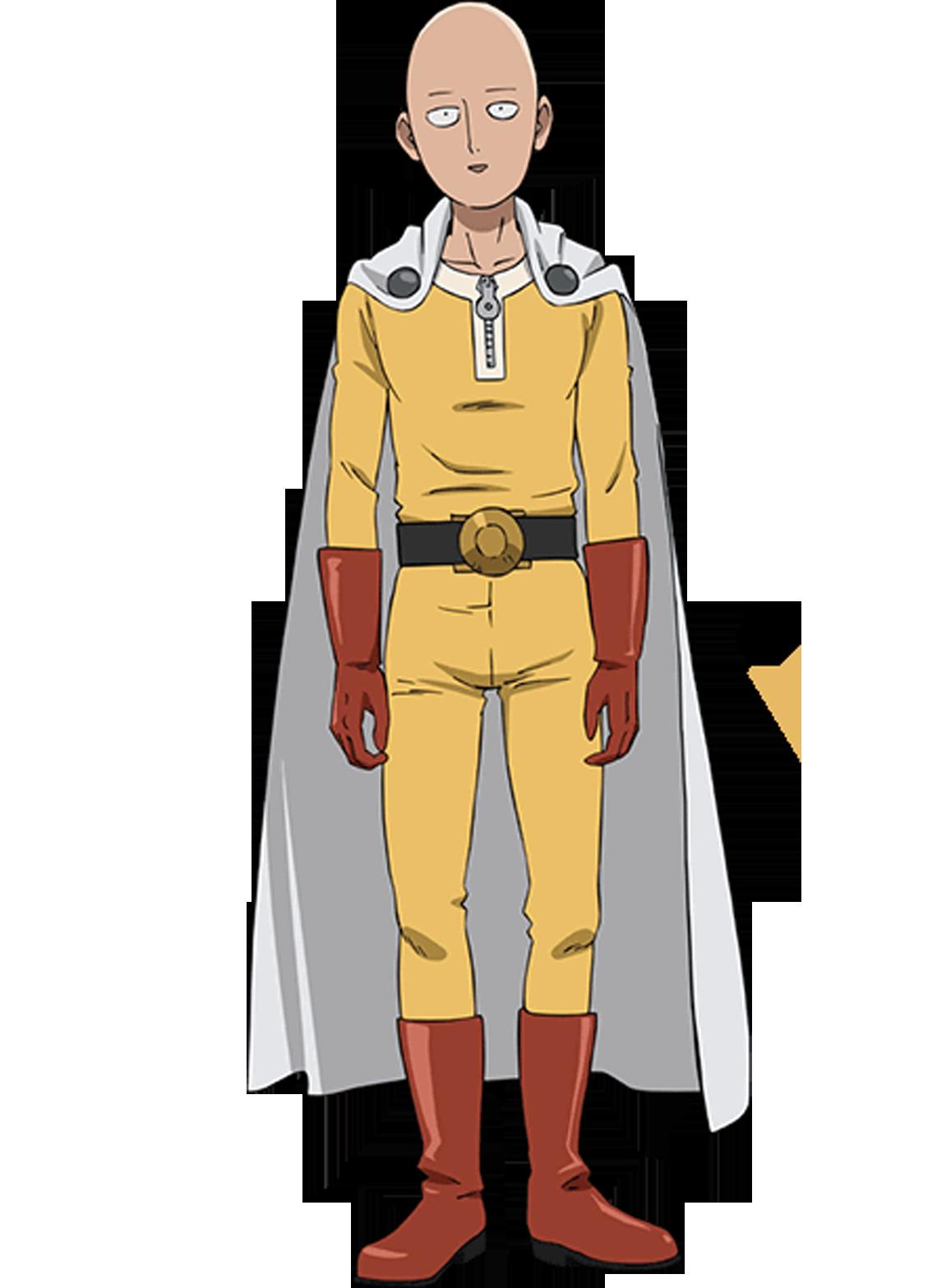 Saitama  One Punch Man Minecraft Skin