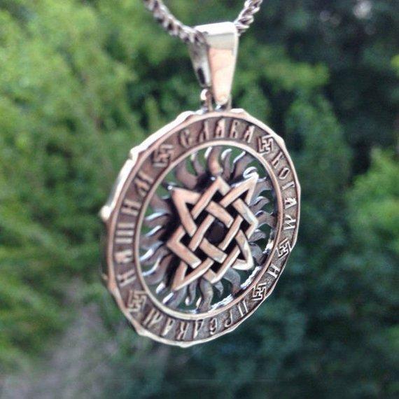 Star Rus Pendant  Slavic amulet  Star of Russia  Handmade pendant