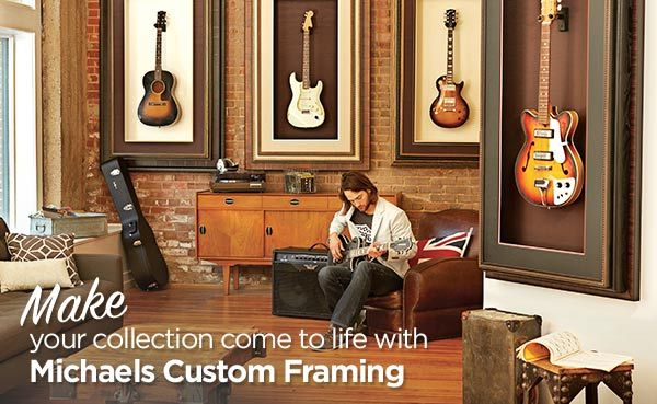 this is an amazing idea for displaying and organizing a guitar collection michaels custom framingcool pictures with boyfriend - Michaels Custom Framing Cost