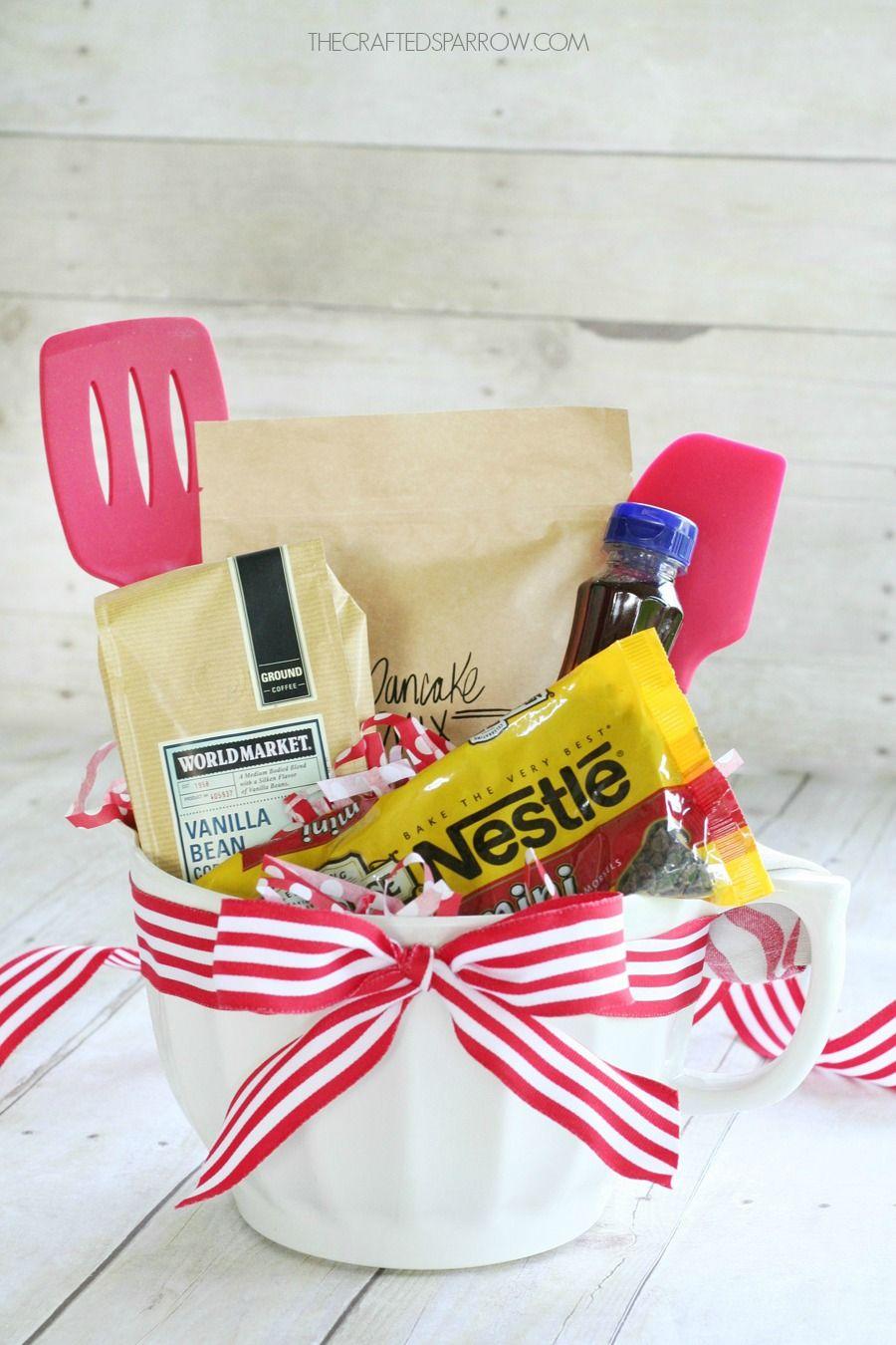 Christmas Breakfast Gift Basket | Gift Ideas | Pinterest | Geschenk