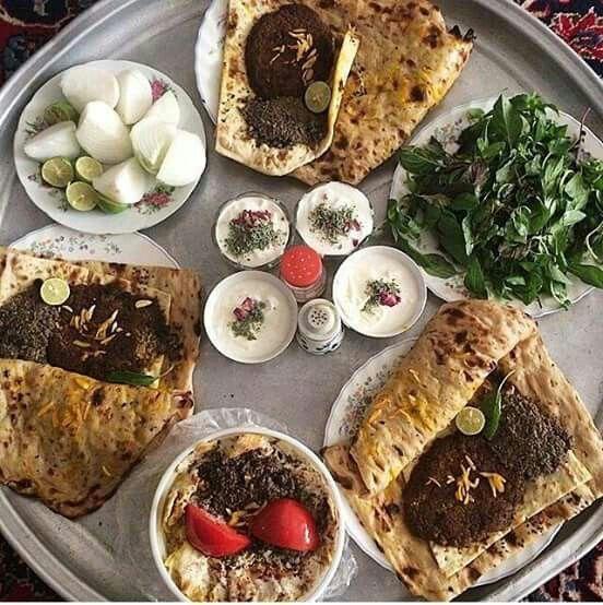 Beryooni Isfahan Iran Persian Food Vegetarian Persian Cuisine Persian Food