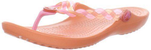 Crocs Translucent Weave Thong Sandal (Toddler/Little Kid) crocs. $25.55