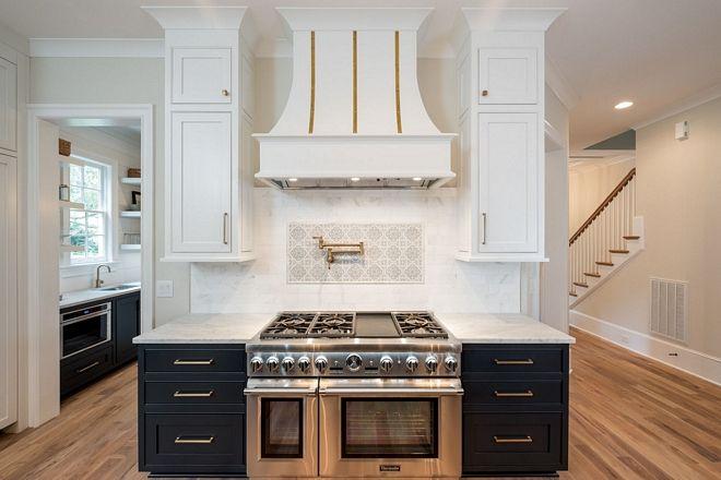 Kitchen Features Honed Marble Backsplash With Custom Picture Frame Adorable Chalkboard Paint Backsplash Exterior