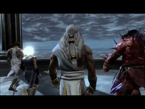 God Of War 3 Remastered Zeus Final Boss Fight Ps4 1080p
