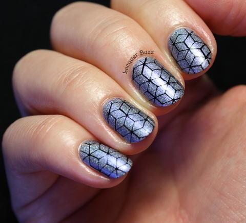 moyra  11 damask drapery  whats up nails  simple nails