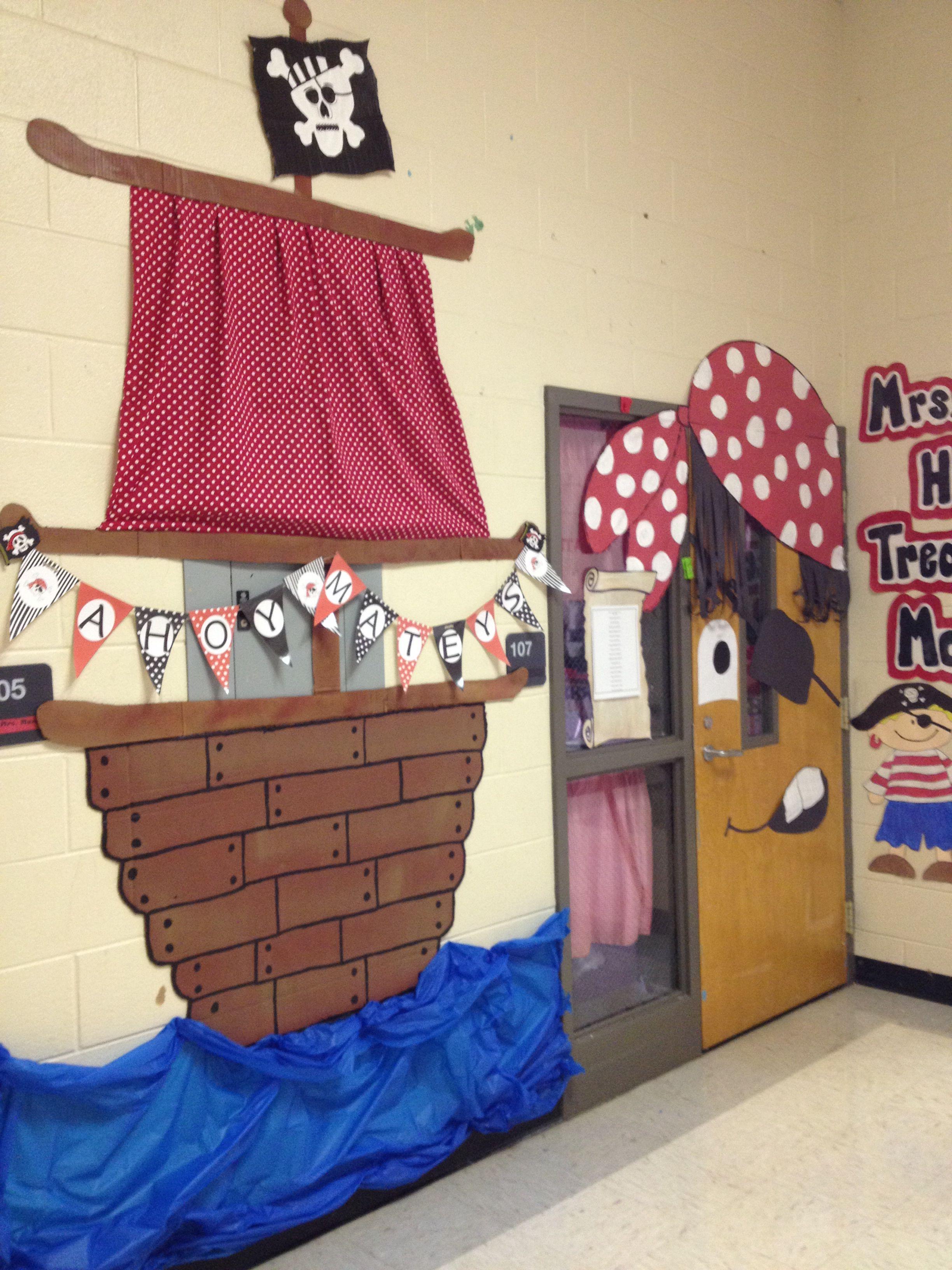 Pirate Ship Hall Decor