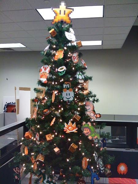 Nintendo Amp Mario Themed Christmas Tree Inspiration For