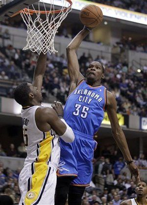 FULL GAME in HD! Oklahoma City Thunder vs. Indiana Pacers on www.nbadunks.org