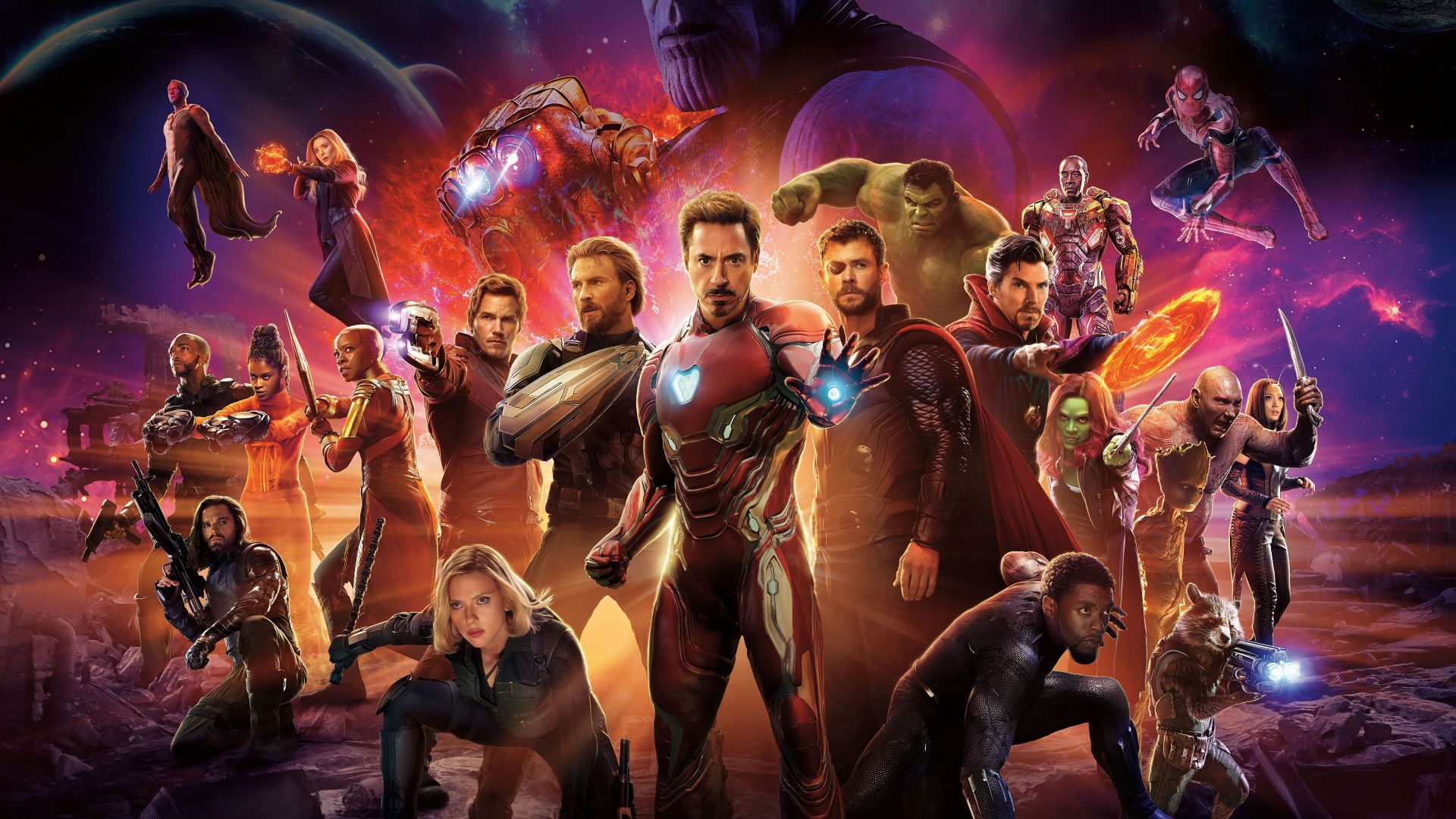 Avengers Wallpaper Horizontal