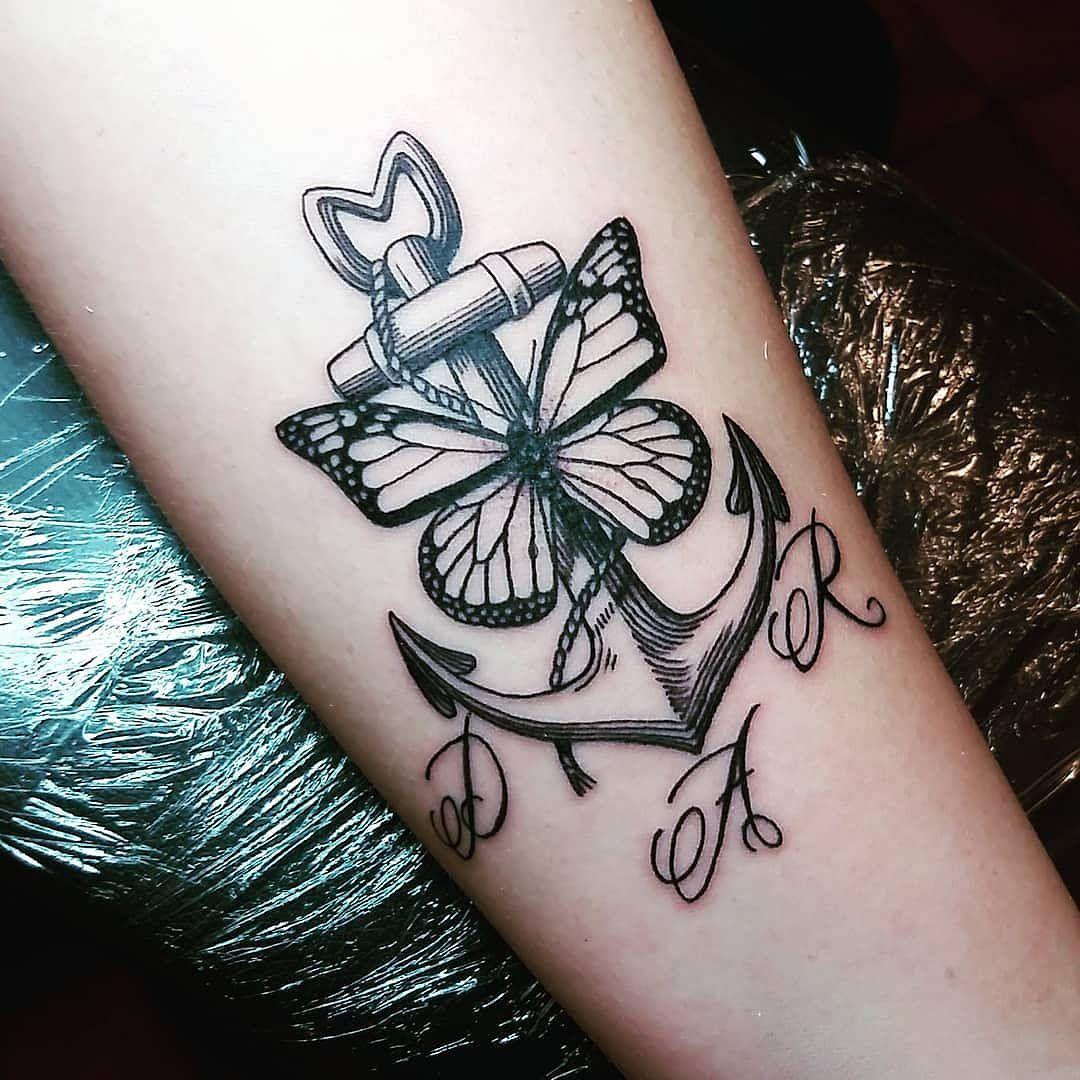 Tatuaggi farfalle | la magia e la delicatezza nascoste dietro questo tattoo
