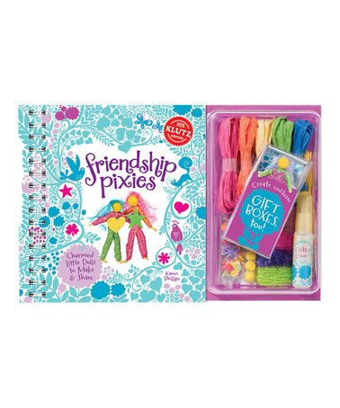 Take a look at this Friendship Pixie Hardcover Kit by Klutz on #zulily today! $12 !!