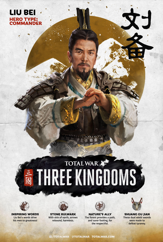 Total War Three Kingdoms 组通知