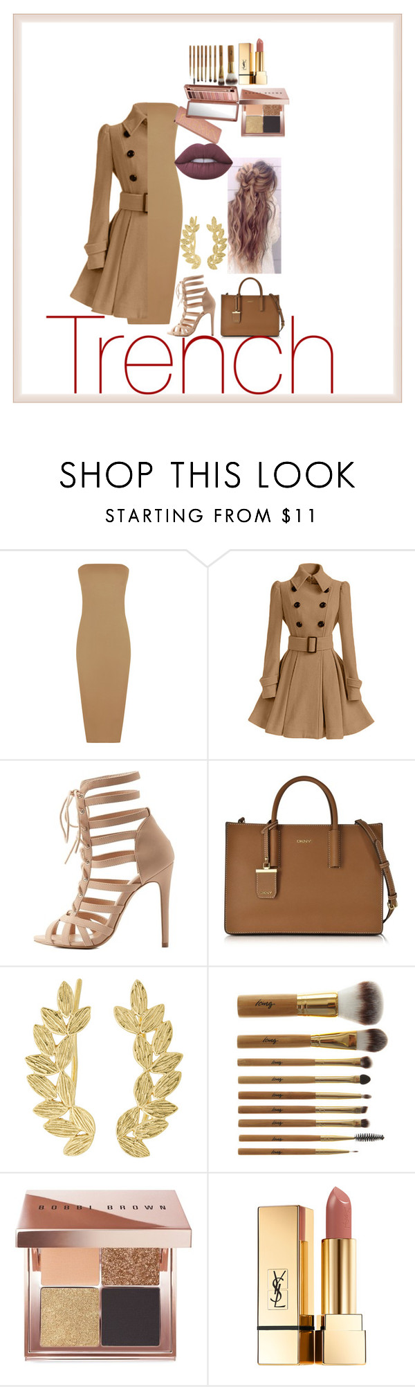 """""""..."""" by aneesagodinez ❤ liked on Polyvore featuring WearAll, Charlotte Russe, DKNY, Eddera, Urban Decay, Bobbi Brown Cosmetics, Yves Saint Laurent and Lime Crime"""