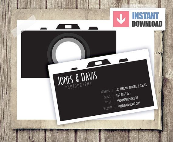 So cute Business Card Camera Photographer Business by - reservation forms in pdf
