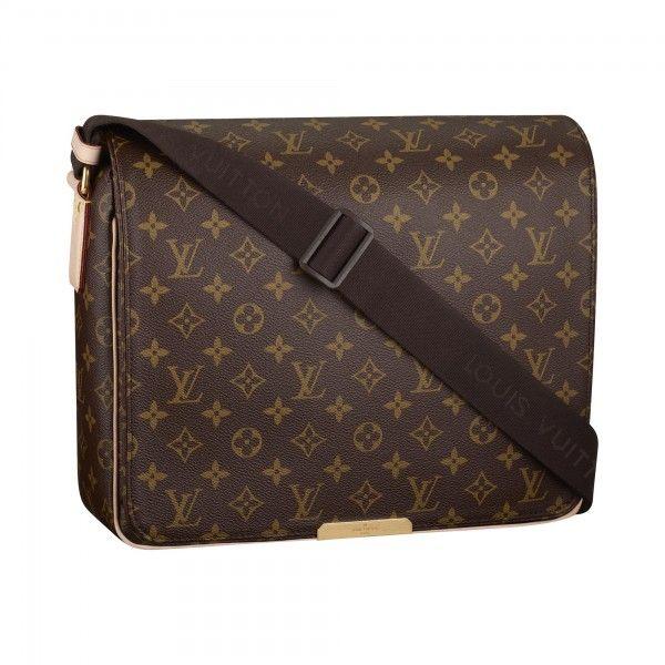 93b2f925b401 Louis Vuitton Mens Messager Messenger Bag DAMIER GEANT