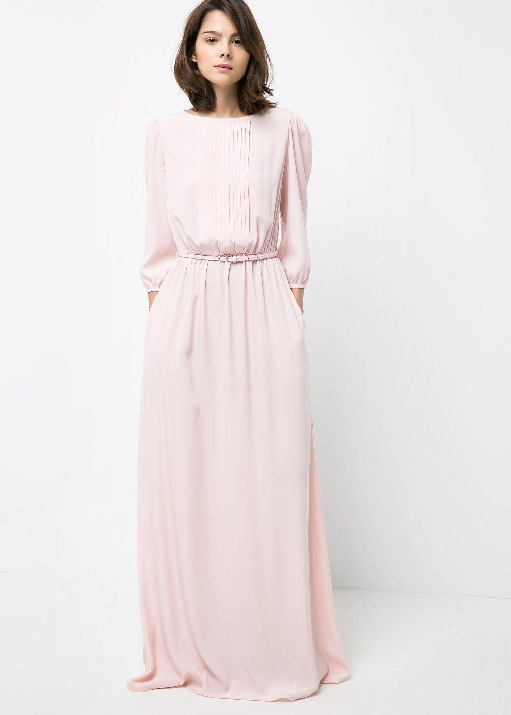 Vestido largo satinado satin gown satin and gowns