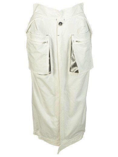 MAISON MARGIELA Maison Margiela Patch Pocket Skirt. #maisonmargiela #cloth #skirts