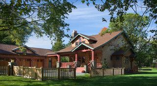 Bungalow Haven - traditional - exterior - other metro - by Brewster Thornton Group Architects, LLP