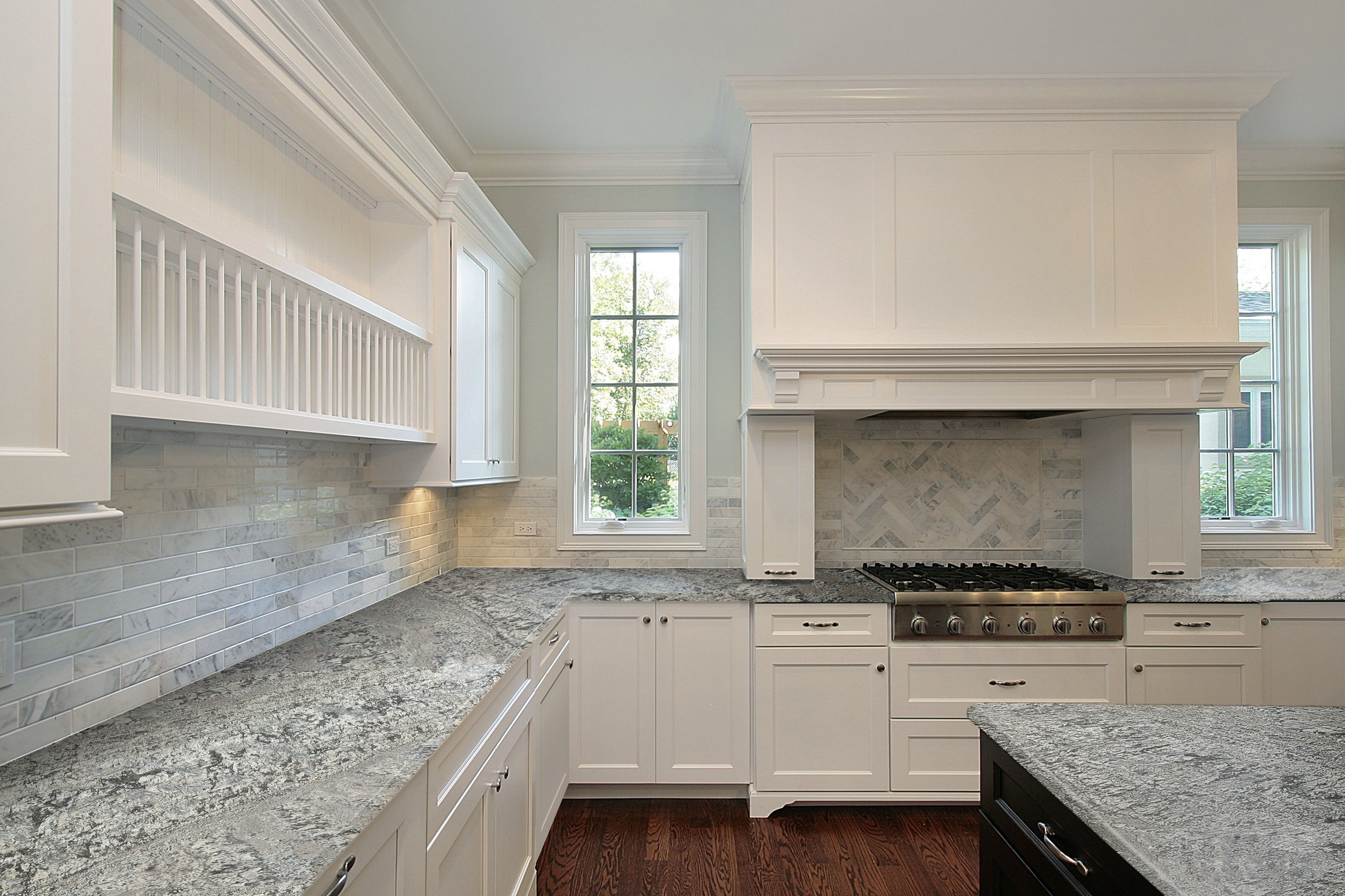 New Azul Aran Granite Kitchen Counter Http Www Marmol Com Pro