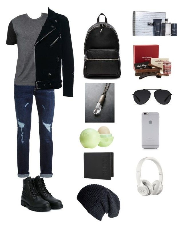"""Chillin."" by ariyonnagomez ❤ liked on Polyvore featuring Topman, Billabong, Valentino, Route des Garden, Jimmy Choo, Alexander Wang, Eos, Salvatore Ferragamo, Gucci and Black"