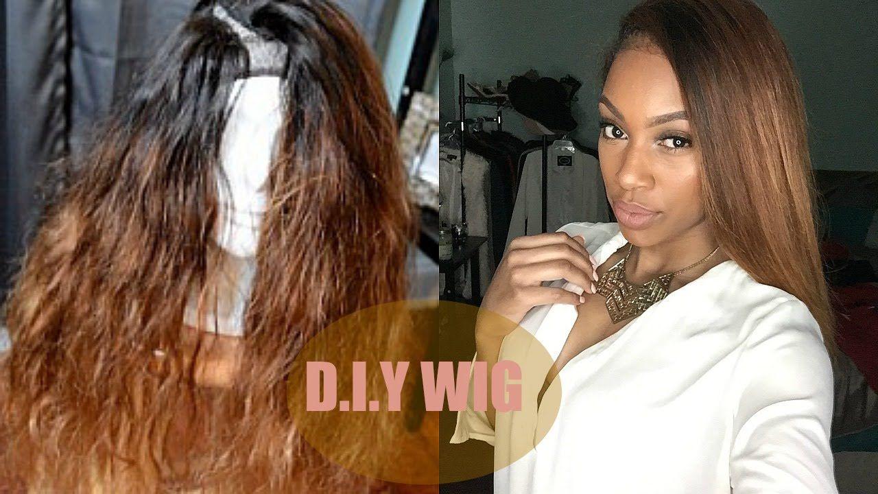Tutorial V U Part Wig Ft Aliexpress Hair Part 2 U Part Wig Aliexpress Hair Wigs