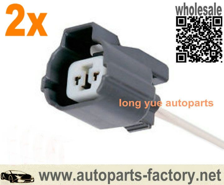 longyue 2pcs 2 Way Female ACDelco PT1697 Front Wheel Plugs