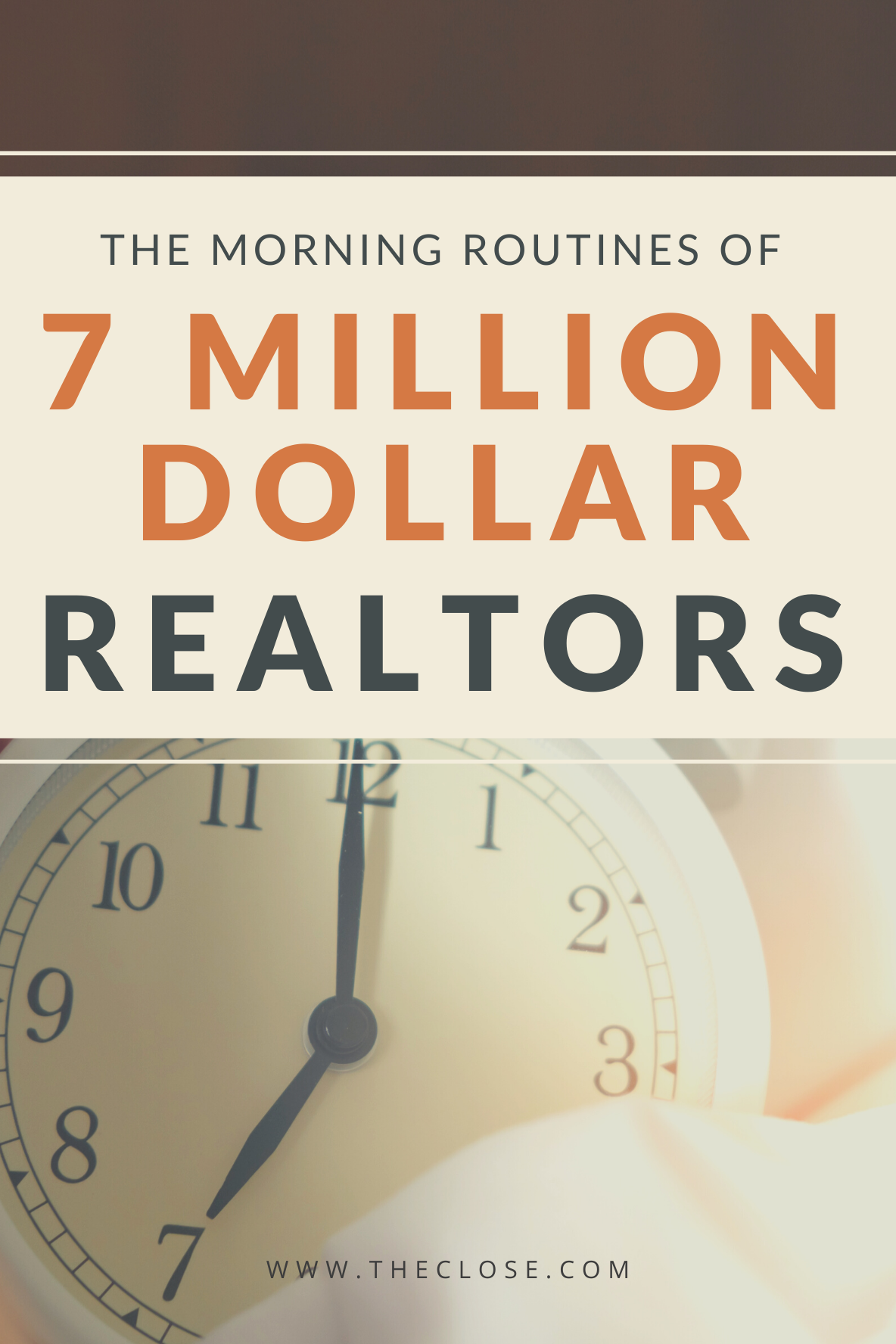 Psychologists agree that some morning routines can help you 10x your GCI. Find out what habits to adopt to grow your real estate business. #realestate #realtor #beforework #productive #list #theclose