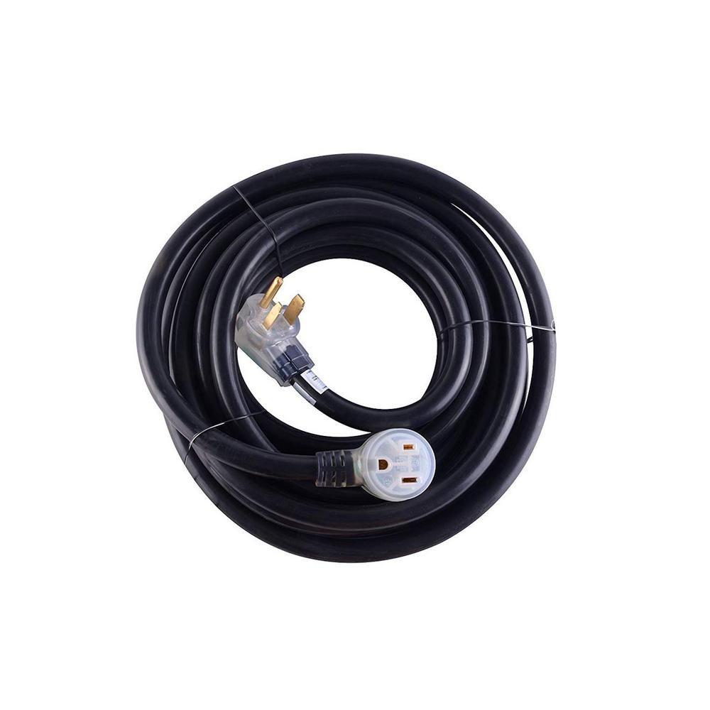 Maxxhaul 40 Ft Heavy Duty 8 Awg 3c 6 50 Nema R Plug Lighted
